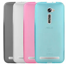 """TPU Silicone Gel Soft Shell Skin Back Cover Case for AT&T 5.0"""" Asus Zenfone 2E"""