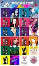 Arctic Fox Hair Dye - All Colours 4oz & 8oz Posidon, Pink, Purple Rain, Wrath...