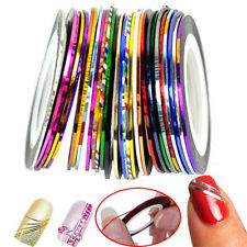 Nail Art Striping Tape Line Decoration pack of 10 rolls Sticker Diy EA Crafts