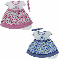new newborn infant baby girl dress 3 piece set clothing outfit size 3 6 9 months
