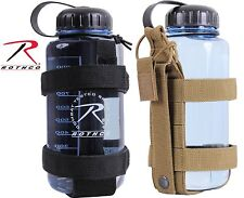 Rothco Lightweight MOLLE Bottle Carrier - Adjustable Water Bottle Attachment