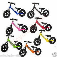 "Strider Sport Balance Bike 12"" Childrens Childs BMX Kids Training Bicycle ST-4"