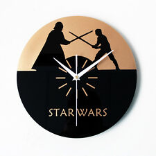 Wall Clock STAR WARS Clocks Special Edition CD Time Home Decor Unique Gift 11.8""