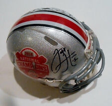 Jeff Heuerman Signed Ohio State Football Mini Helmet w/COA National Championship