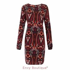 NEW WOMENS LADIES CASUAL BOHO RETRO VINTAGE FLORAL PLUS SIZES TUNIC SHEATH DRESS