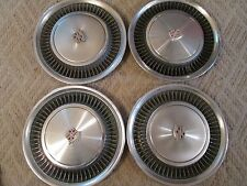 """1974-79 CADILLAC/FLEETWOOD OEM/USED 15"""" WHEELCOVER SET VERY CLEAN/LOOK SHARP !!"""