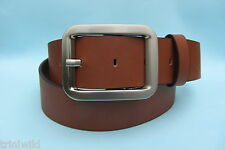 Tan Brown Real Leather Belt
