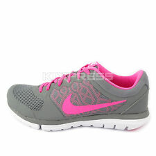WMNS Nike Flex 2015 RN MSL [724987-009] Running Cool Grey/Pink-White