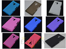 Multi Color Matting TPU Gel CASE Cover For Sony Xperia S LT26i