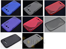 Multi Color S-Types TPU Gel CASE Cover For Samsung Galaxy S Advance I9070