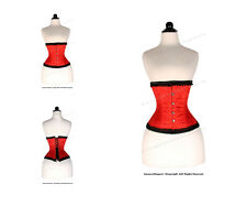 14 Full Steel Boned Heavy Lacing Brocade Underbust Shaper Corset #9965RB-BRO