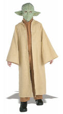 Star Wars Deluxe Yoda Child Kids Halloween Costume Hooded Robe Mask 882164