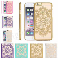 Ultra Thin Soft Tribal Mandala Lace Hard Back Case Cover for iPhone 6 PLUS 5S