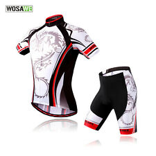 Cycling Sport Jersey Bicycle Wear Clothing Short Sleeves Shirt Top Short S-2XL