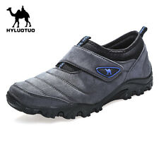 Mens Walking Hiking Trail Outdoors Ventilated Running Trainers Velcro Shoes