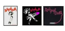 New York Dolls Sew On Patch/Patches NEW OFFICIAL. Choice of 3 Designs