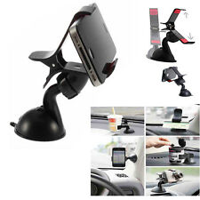 Universal Clip Suction Mount Air Vent Windscreen Car Holder For Various Phone UK