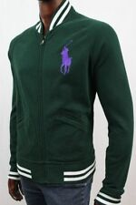 POLO by Ralph Lauren Varsity Football Fleece Jacket Big Pony~NWT~