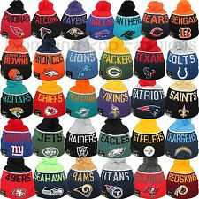 New Era 2015 NFL ON FIELD OFFICIAL SIDELINE Pom Pom Sport Knit Beanie Cap Hat
