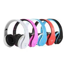 Bluetooth 3.0 Wireless Stereo Music Headphones Headset Stereo Mic FM Radio O6MG