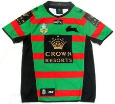 SOUTH SYDNEY RABBITOHS NRL 2015 OFFICIAL ISC MENS ADULT HOME JERSEY SUPPORTER