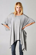 Cherish Poncho Top All Seasons Color-Heather Gray One Size Fits Most