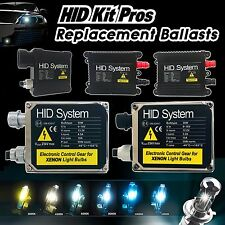 Two Xenon Lights HID Kit 's Replacement Ballasts H1 H3 H4 H7 H10 H11 9006 9007