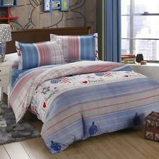 U.S Liberty Single Double Queen King Size Bed Set Pillowcases Quilt Duvet Cover
