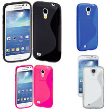 Silicone Case For Samsung I9190 Galaxy S4 Mini TPU GEL Protective Cover S-Line