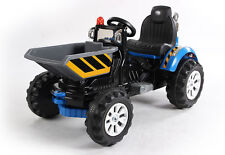 kids 12v electric ride on dumper truck with tipping bucket ride on car