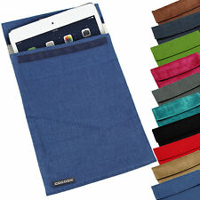 """SOFT UNIVERSAL TRAVEL POUCH SLEEVE COVER CASE BAG FOR UPTO 11"""" PC TABLET EREADER"""