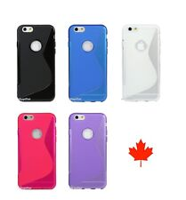 S-Line Wave Soft TPU Gel Silicone Case Cover Apple iPhone Phone / ipod Touch