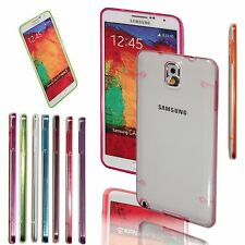 Ultra-thin Clear TPU Hard Case Cover Skin For Samsung Galaxy Note 3 III N9000