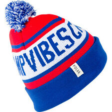 Poler Outdoor Stuff Gas Station Unisex Headwear Beanie Hat - Royal Blue Bright
