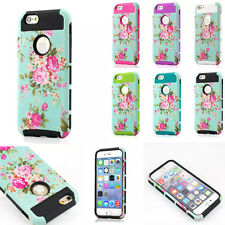 Heavy Duty Shockproof Rugged Hybrid Armor Skin Case Cover for iPhone 6 6S Plus