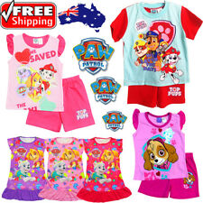 NEW Sz 2~6 KIDS BOYS PYJAMAS PJ PJS SLEEPWEAR TOP T-SHIRT TEE PAW PATROL NIGHTIE