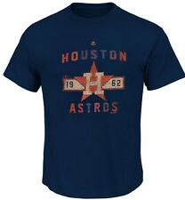 Houston Astros MLB Majestic Great Performance Mens Navy Shirt Big & Tall Sizes