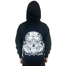 Unisex Cartel Ink Sugar Skull Hoodie Mexican Day of the Dead Tattoo