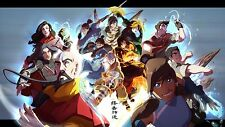 Avatar The Last Airbender Animation poster 24