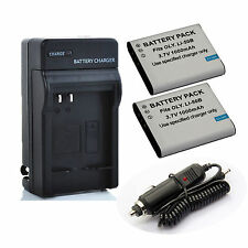 New Battery / Charger for Olympus Stylus Tough TG-830,TG-835, TG-850 iHS, TG-860