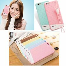 Cute 3D Ice Scream Soft Silicone Rubber Case Cover For iphone 6S plus 5S 5C 4S