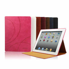 Luxury Leather Ultra Thin Smart Stand Case Cover for Apple ipad air2/Air/mini2/3