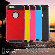 Shockproof Hard Rugged Heavy Bumper Cover Case For Apple iPhone 5/5S/6/6 Plus SE