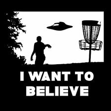 I WANT TO BELIEVE (vintage x files poster ufo secret gift alien print) T-SHIRT