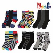 Meisterin Match&Go 6prs Women Men Crew Casual Cotton Socks Korea