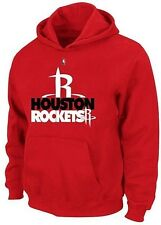 Houston Rockets NBA Majestic Mens Game Face Pullover Hoodie Red Big & Tall Sizes