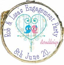 PERSONALISED ENGAGEMENT PARTY DIY MINT CRISP CHOCOLATES FAVOURS SWEETS EPMC19
