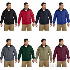 Harriton Mens Fleece-Lined Nylon Jacket S-4XL M740