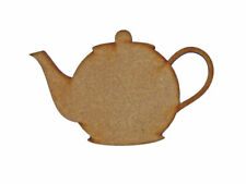Teapot MDF Laser Cut Craft Blanks in Various Sizes