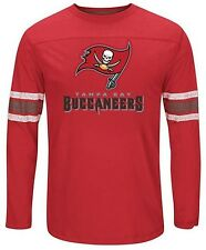 Tampa Bay Buccaneers NFL Corner Blitz Long Sleeve Shirt Red Big & Tall Sizes